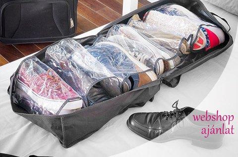 Helytakarékos cipőtároló 6 pár cipő számára
