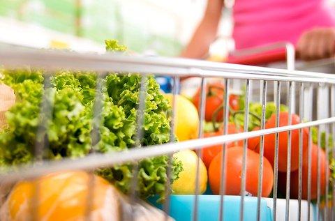 1,5 órás közös vásárlás egy dietetikussal