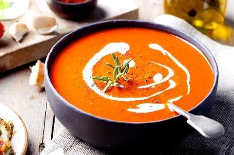 Választható egészséges, laktóz-, gluténmentes leves