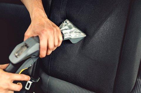 Kárpittisztítás 1 ülésre vagy akár 5 üléses autóra