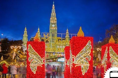 Advent Bécsben buszos utazással