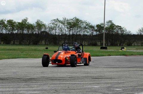 Lotus Super Seven Cabrio vezetés Kiskunlacházán