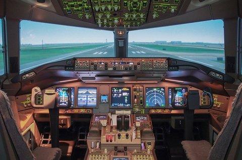 1 órás repülőgép szimulátorozás 1 főnek