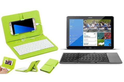 Bluetooth billentyűzet touchpaddal