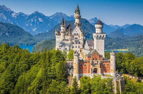 Buszos utazás a Neuschwansteini kastélyhoz