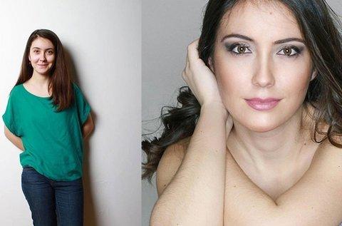 Profi fotózás hairstylisttal és sminkmesterrel