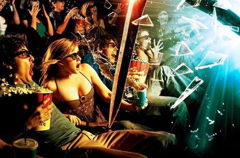 Belépőjegy az 5D Cinema vetítéseire 2 főnek