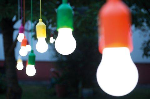 4 db Handy Lux Colors vezeték nélküli LED lámpa