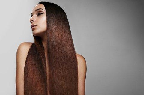 Keratinos tartós hajegyenesítő kezelés