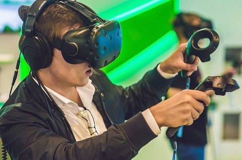 1 órás virtuális valóság élmény 1 fő részére