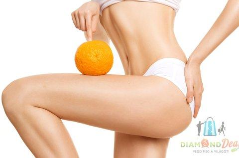Fogyasztó, narancsbőr kezelő testtekercselés