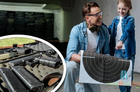 Családi élménylövészet 100 lövéssel Ráckevén