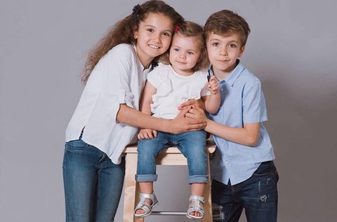 60 perces családi stúdió fotózás
