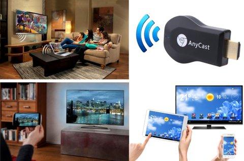 Wifi HDMI stick audió és videó dekódolóval