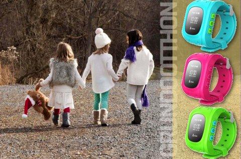 Divatos GPS gyermek karóra 3 színben