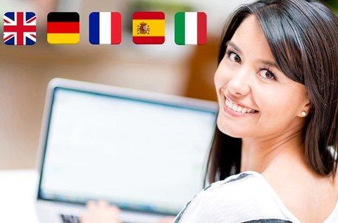 6+1 hónapos választható online nyelvtanfolyam