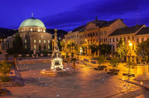 3 napos gondtalan pihenés Pécs belvárosában