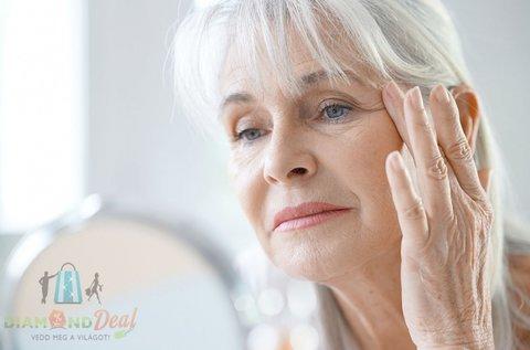 Hialuronsavas Anti-Aging bőrfiatalító arckezelés