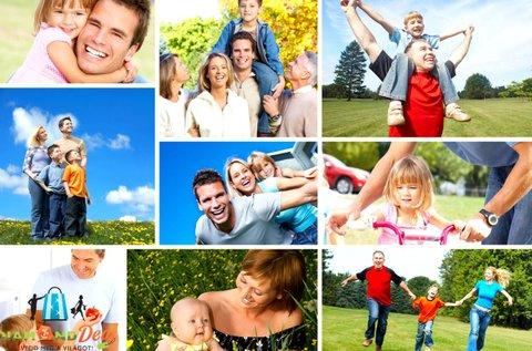 Egyéni, páros, családi vagy baráti fotózás 1,5 órában