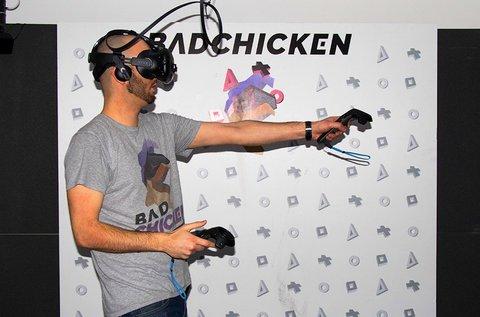 1 órás VR élmény HTC Vive szemüveggel 1 főnek