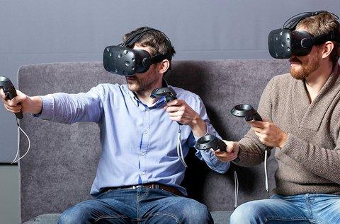 1 órás virtuális valóság élmény 2 fő részére