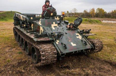 Tank és Big Foot élményvezetés Gyálon