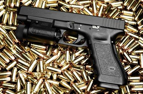 85 lövés 1 fő részére választható fegyverrel