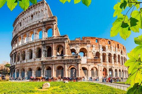 4 napos kikapcsolódás Rómában repülővel
