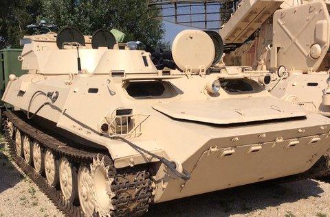 MTLBU kétéltű lánctalpas harckocsi vezetés