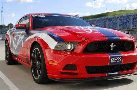 5 körös Mustang 302 Boss autóvezetés