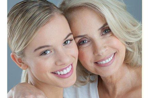Anya-lánya páros arckezelés mezoterápiával