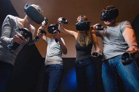 1 órás VR játékélmény 3-6 fős társaságoknak