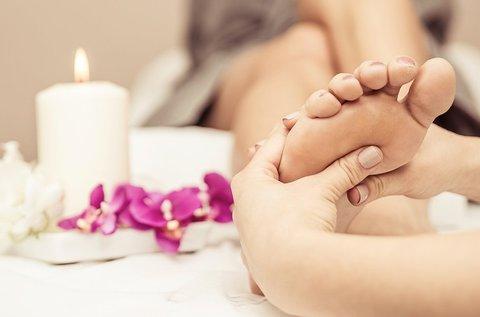 30 perces talpreflexológiás kezelés