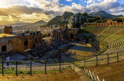 4 napos lazítás múzeum belépővel Szicília szigetén