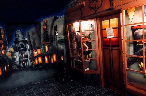 Varázslóiskola szabadulós játék 7-8 főre 60 percben