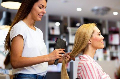 Trimmer hajvágás ultrahangos kezeléssel