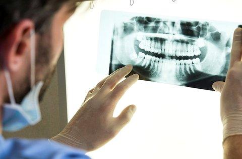 Teljes digitális panorámaröntgen készítése