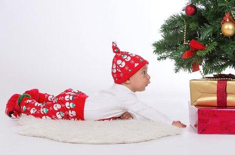 1 órás karácsonyi fotózás 15 db retusált képpel