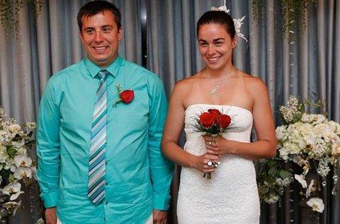 Házasságkötés kápolnában Las Vegasban