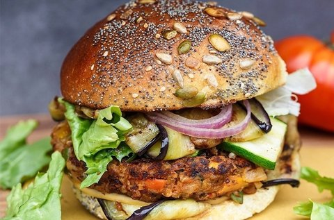Egészséges hamburger készítő főzőklub