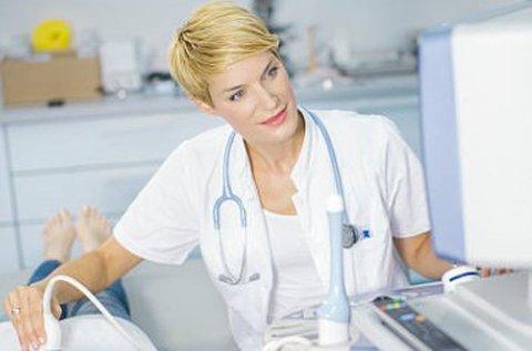 Hasi ultrahang vizsgálat hazavihető lelettel
