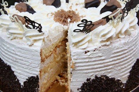 12-16 szeletes mennyei torták több ízben