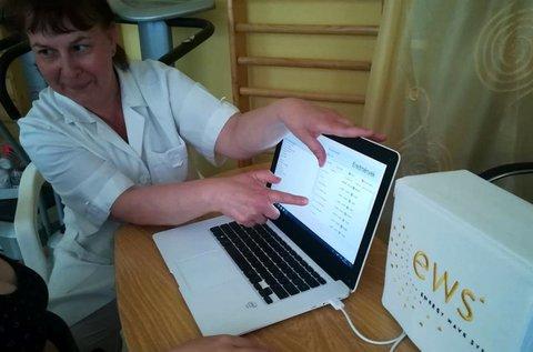 Egészségügyi testelemzés EWS készülékkel