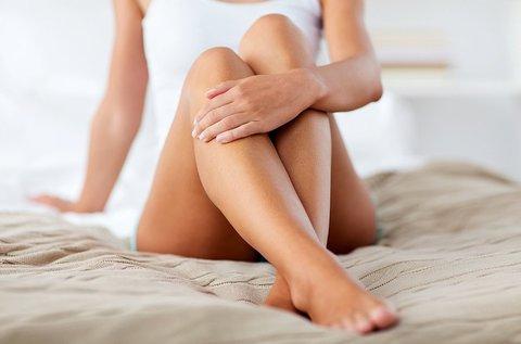 Gyantázás alsó lábszáron és hónaljon