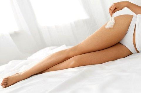 SHR szőrtelenítés teljes láb és lábfej területen
