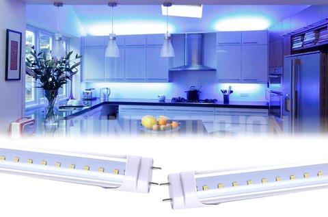 120 cm-es, 16 W-os LED fénycső T8-as foglalattal