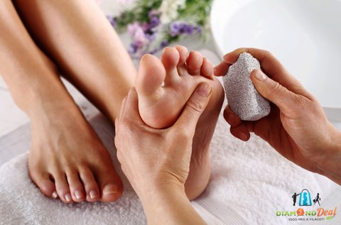 Gyógypedikűr teljes spa szolgáltatással