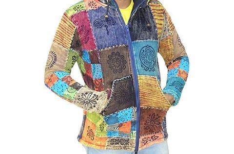 Egyedi stílusú poláros kabát Nepálból férfiaknak