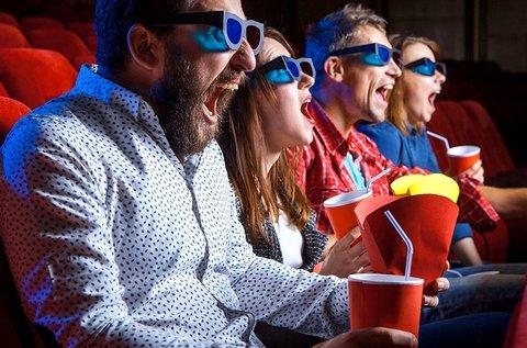 8D Cinema belépőjegy 1 főnek 25 perces vetítésre