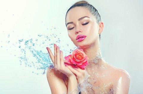 Hidratáló bio rózsakezelés arcmasszázzsal